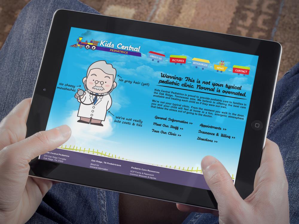 Kids Central Pediatrics Website    Services provided: Website Design & Development,Search Engine Optimization    Visit Site