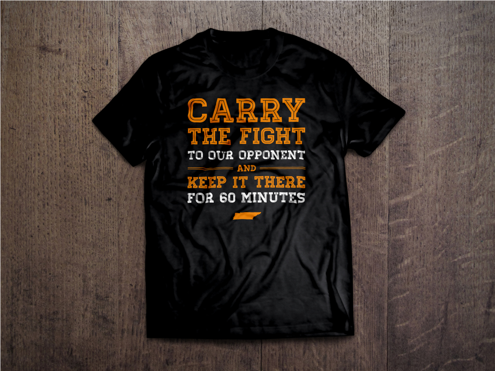 University of Tennessee Athletics T-Shirt Design    Services provided: Graphic Design, T-Shirt Design  Concept