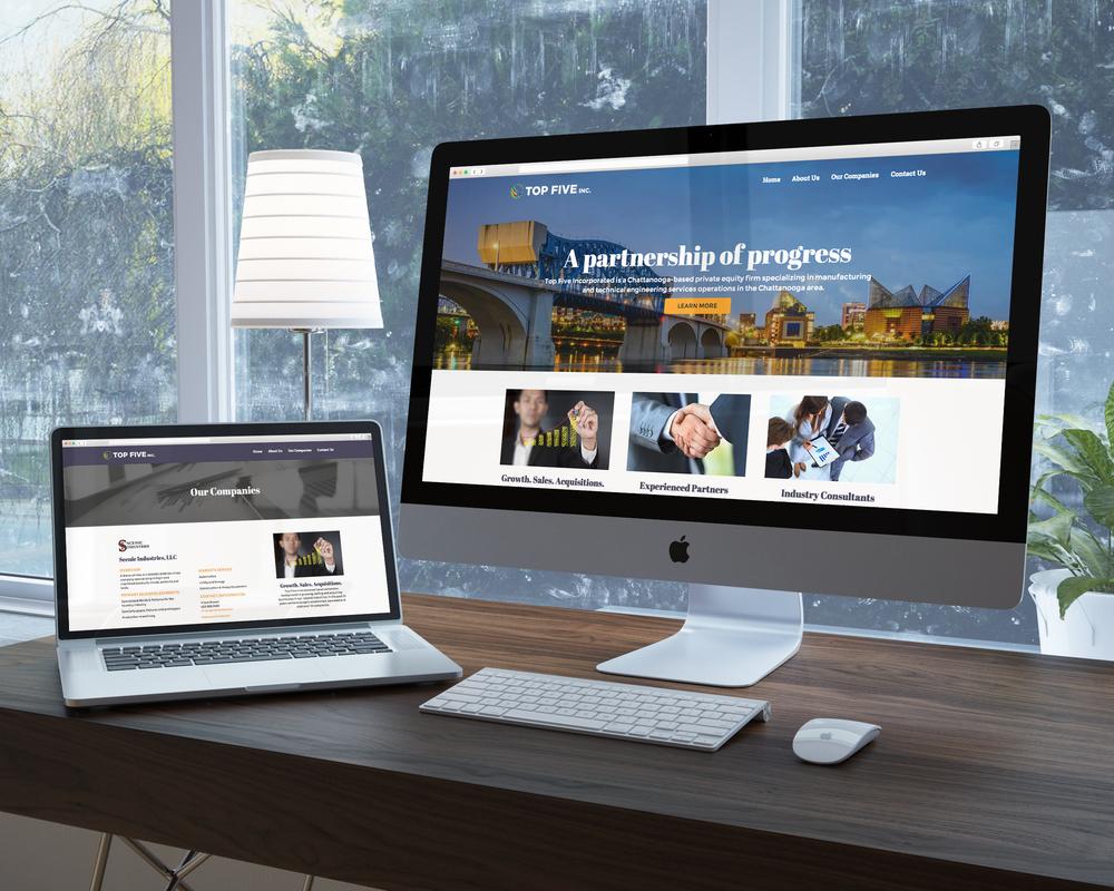 Top Five Inc. Website    Services provided: Responsive Website Design & Development, Custom Wordpress Theme Development    Visit Site