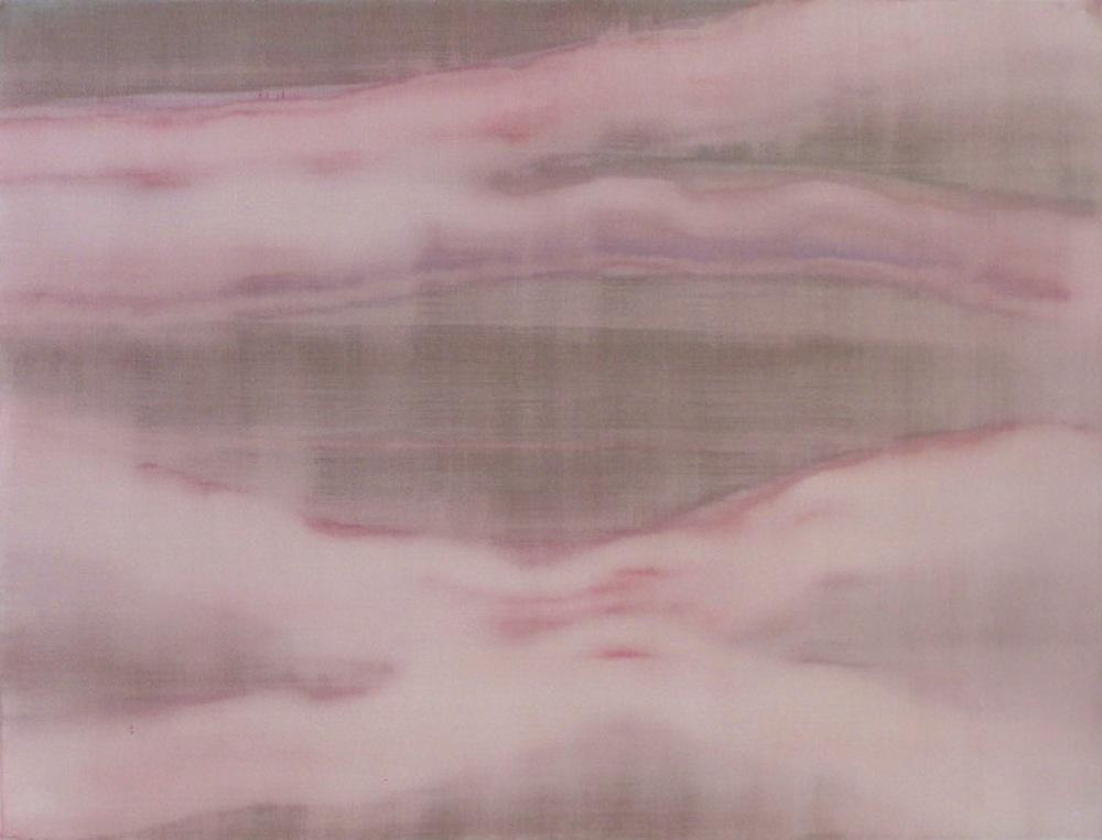 "Lush, 2011   Acrylic on Yupo, 19"" x 25"""