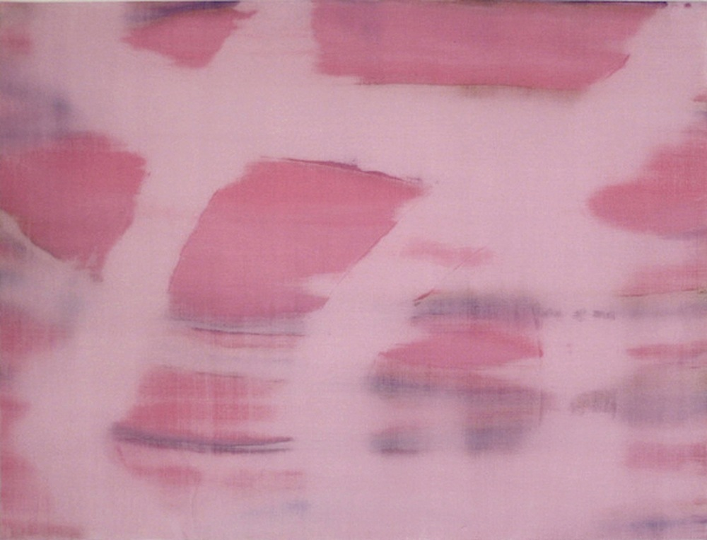 """Reflection,  2011   Acrylic on Yupo, 19"""" x 25"""""""