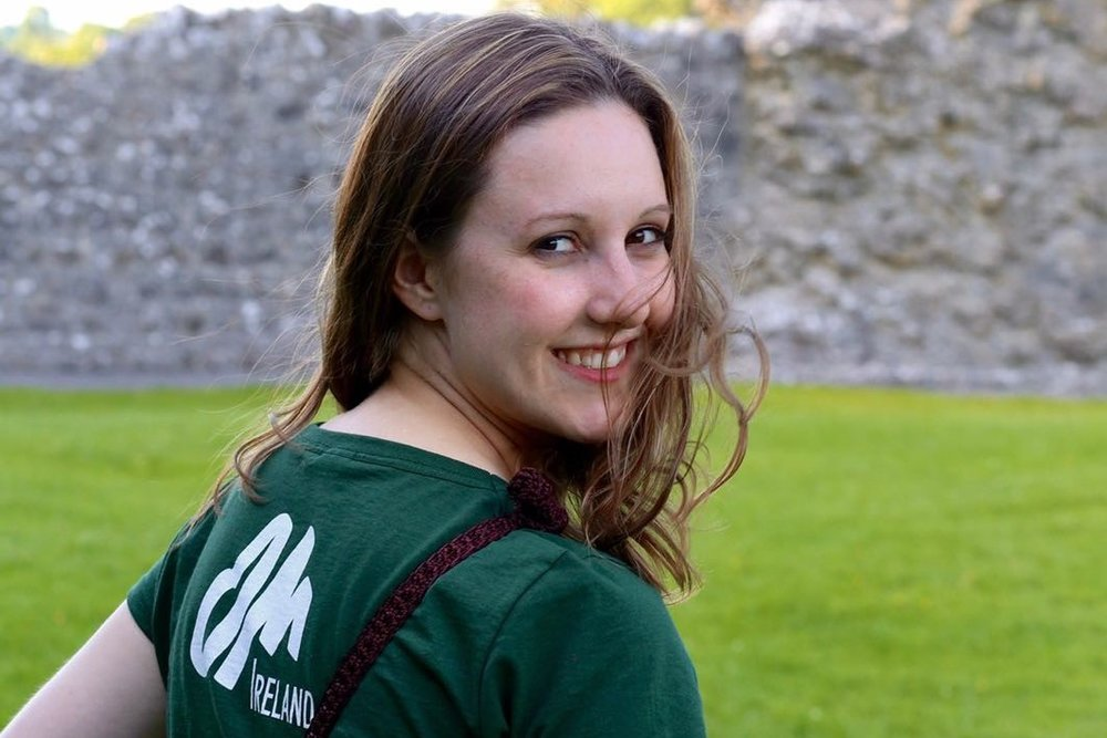 Hannah  , from the USA, has been serving as OM Ireland's journalist for two years. A trained writer, she loves sharing stories of people and their God-inspired life moments. She believes that everyone has a story worth telling, and it's a true joy to be the one to tell them.