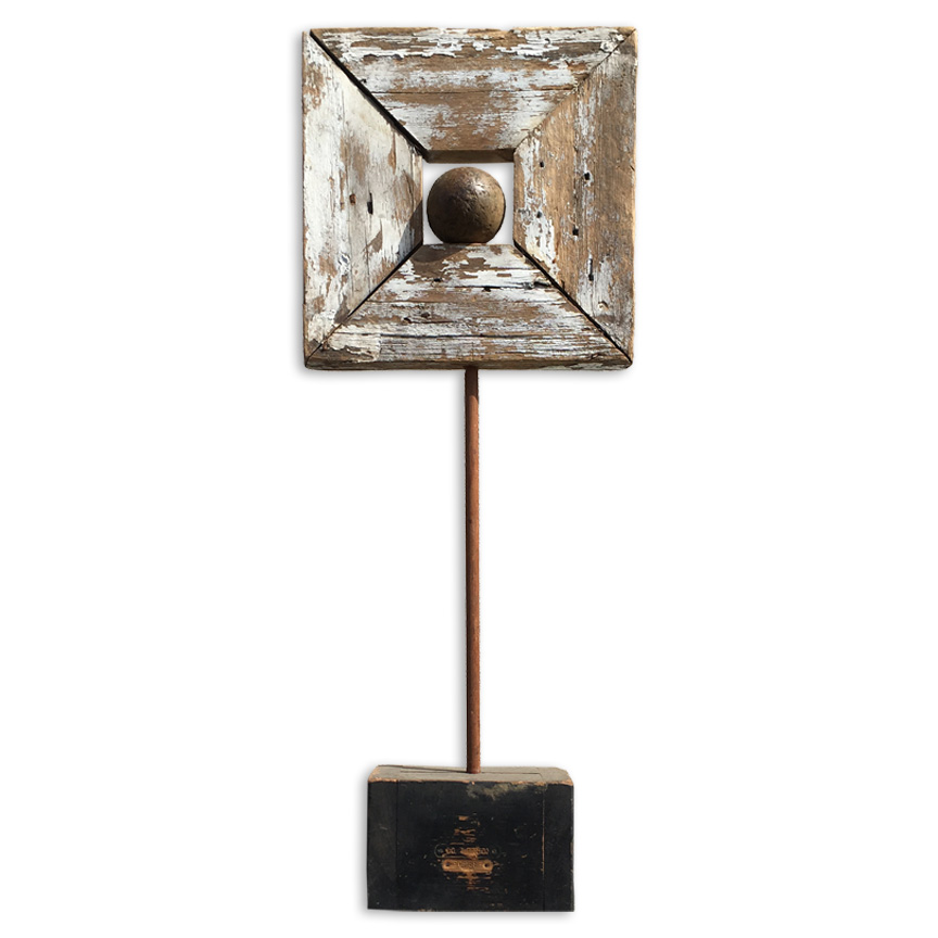 assemblage free standing vollers art