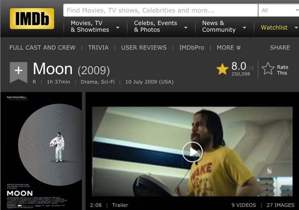 Find more about Moon on IMDB