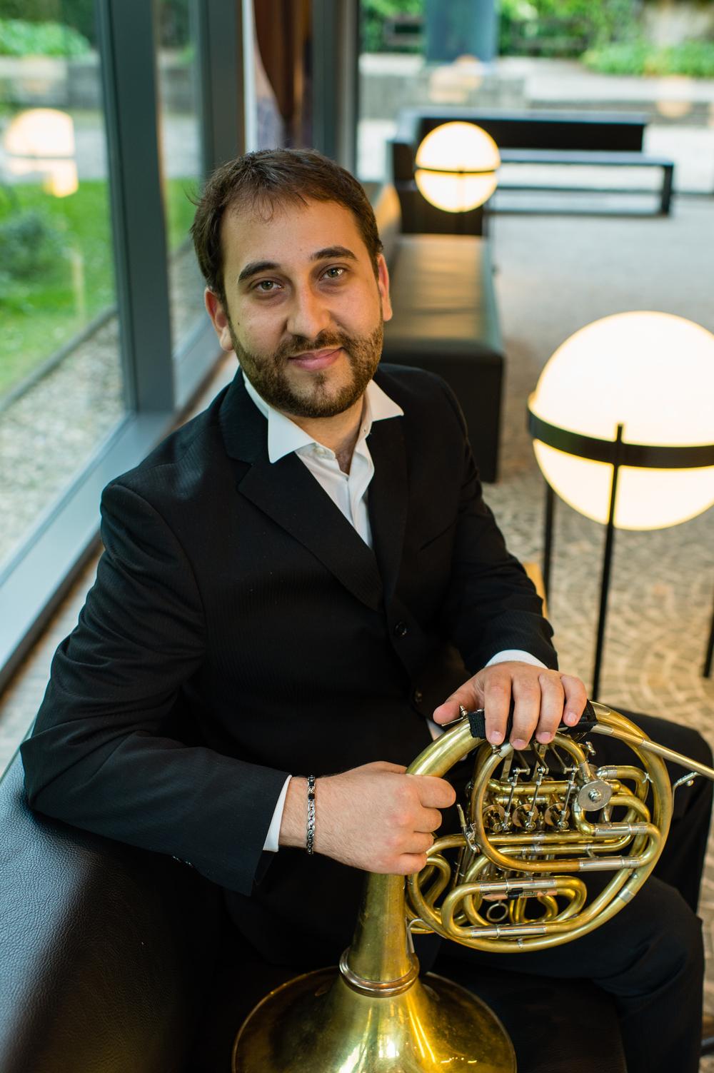 Davide Citera,  corno