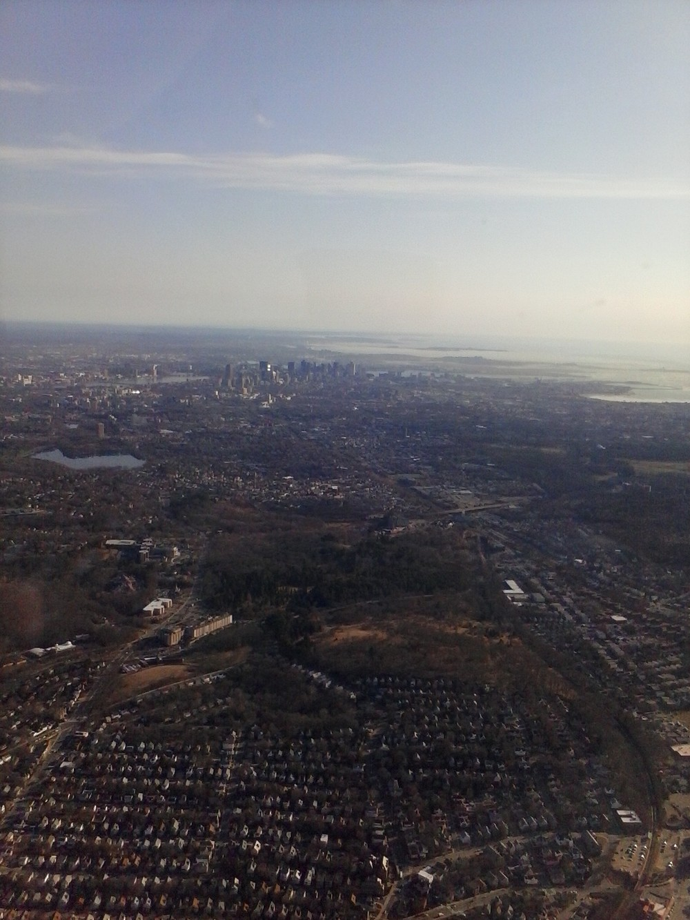 Boston seen from the south