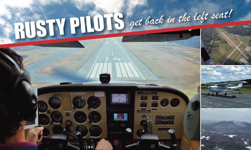 Get Back in The Left Seat! Join FCA's Rusty Pilots Program, Click for more Info