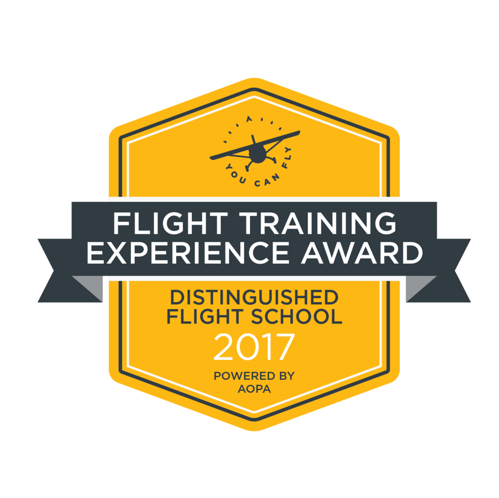 Copy of FCA Recognized 3rd Year in a Row for Excellence in Flight Training