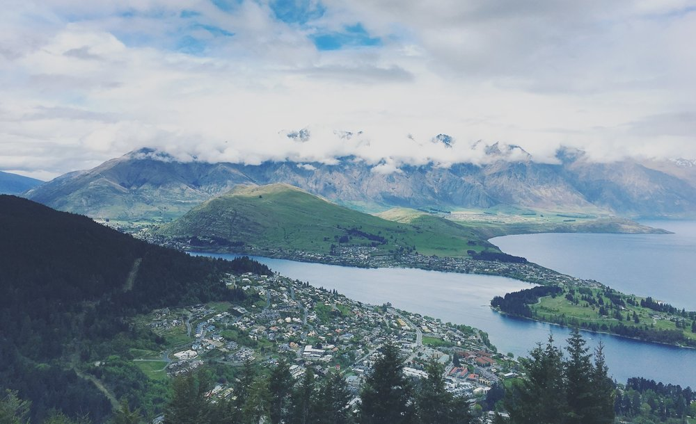 View from Skyline Queenstown