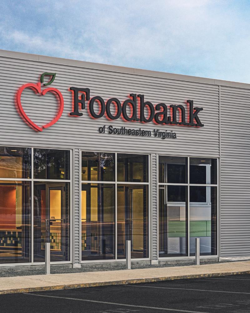 Foodbank Lobby & Exterior