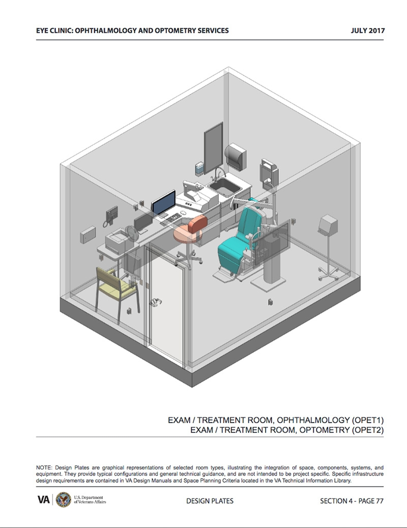 eye clinic design guide pf a design