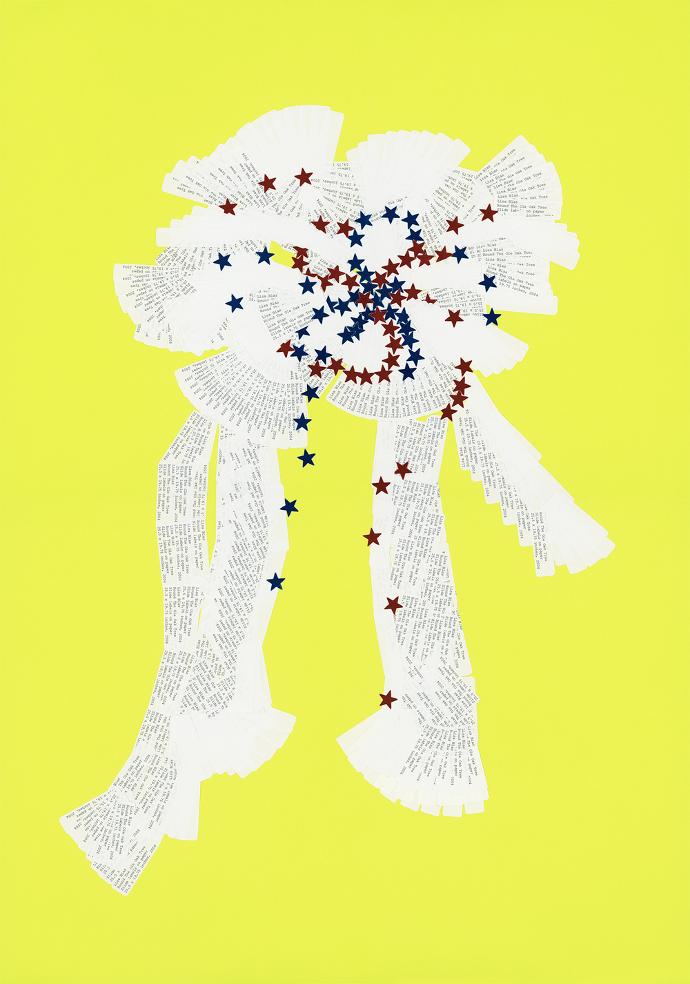 Yellow Ribbon  Chromogenic print 26 x 20 inches 2004