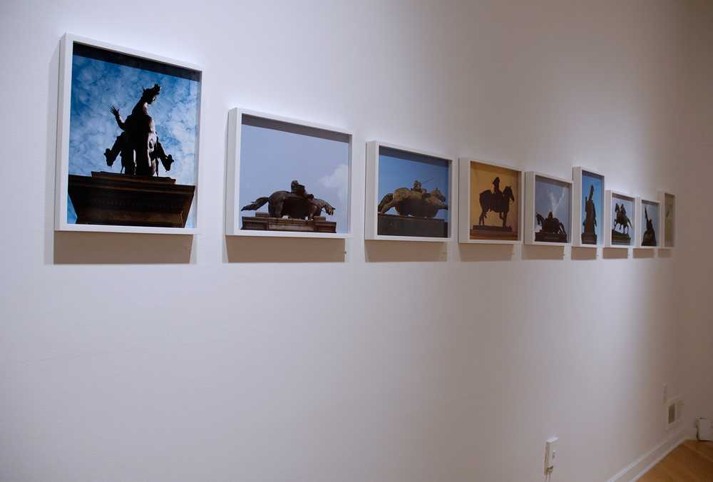 Waves  / Installation view, Civilian Art Projects, Washington, DC, 2007
