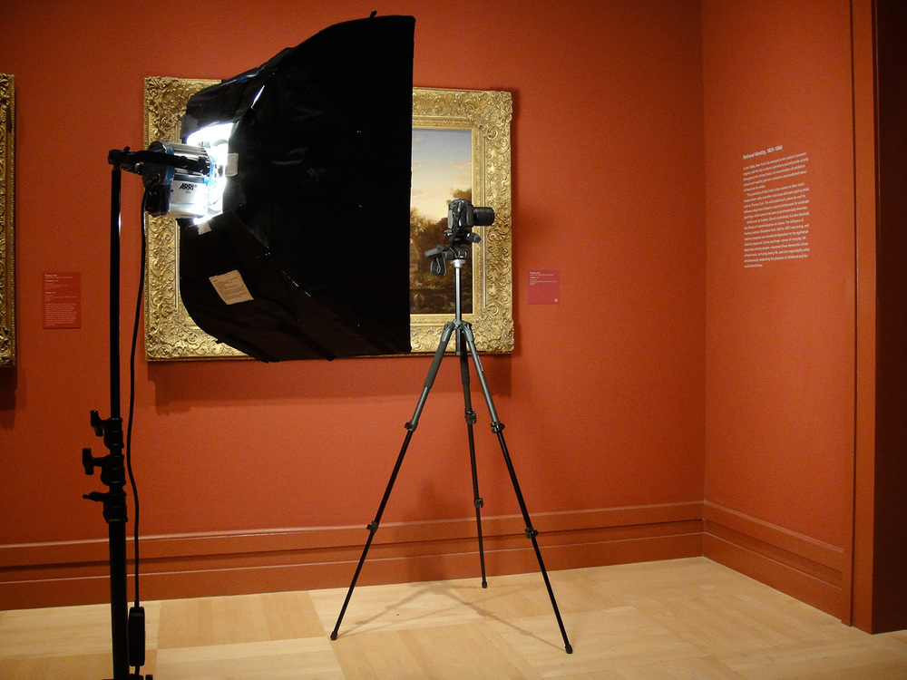 The American Wing, Los Angeles County Museum of Art, July 2012
