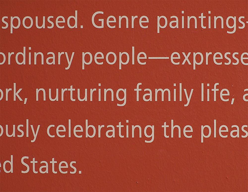 Lisa Blas  Untitled (Scenes), v. 1 (American Wing / LACMA)  Archival pigment print, 19 x 26 inches 2012