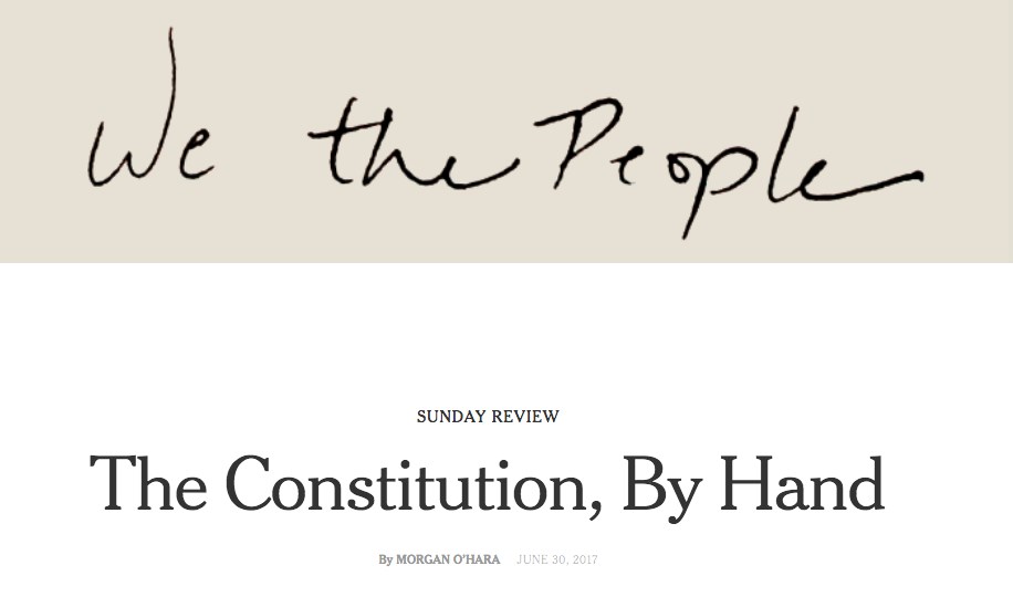 NEW YORK TIMES: SUNDAY REVIEW