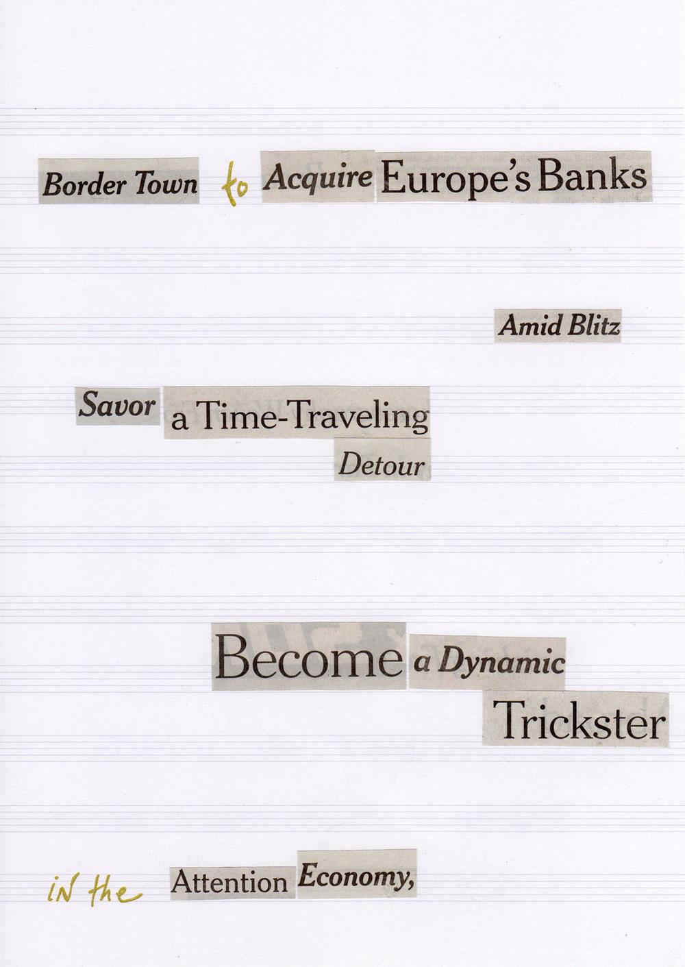 Type Wars, v. 11 (2014)