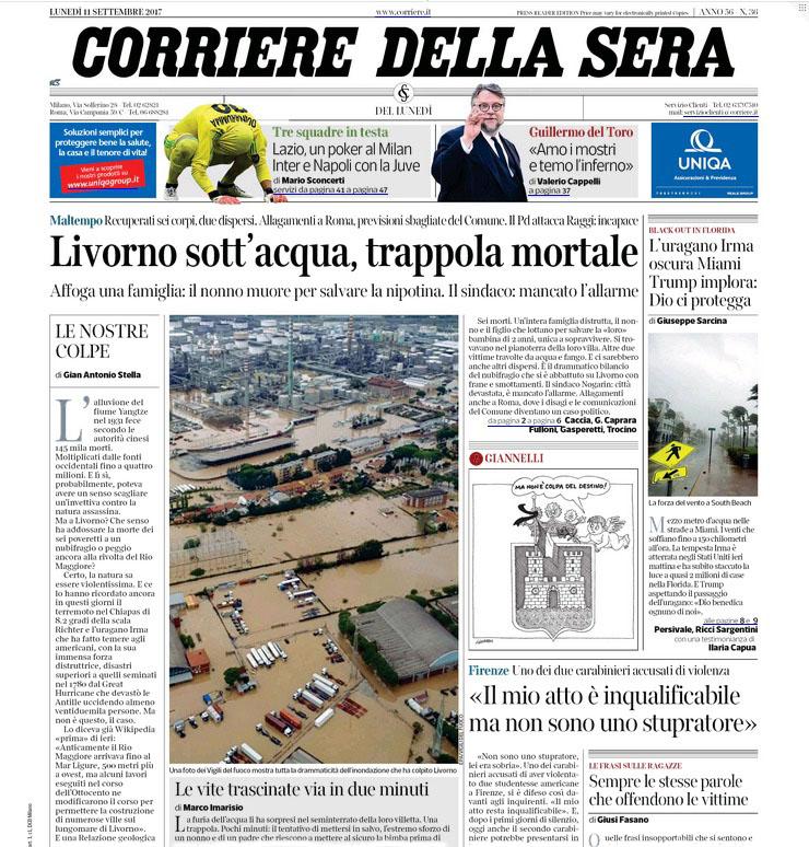CorriereDellaSera_FrontPage_091117.jpg