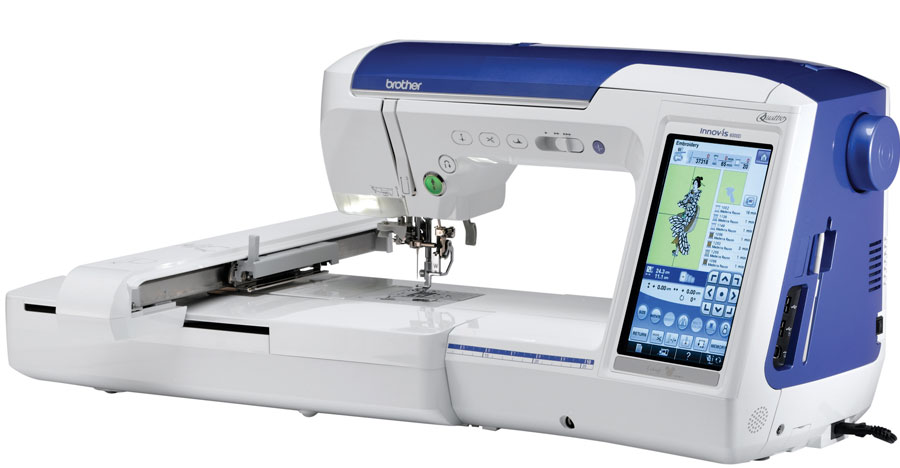 Brother Quattro 3 * a consumer digest best buy * 639 built-in stitches * 937 built-in embroidery designs * 207 designs featuring Disney/Pixar characters * 14 bobbin work designs * almost 50 square inches of work space *  scanning feature with innoveye