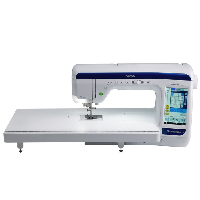 Brother VQ3000 * 561 Sewing stitches * V-sonic pen pal for sewing * MuVit-digital dual feed * sew straight laser vision guide * on screen help * Automatic needle threading system * LCD touch screen