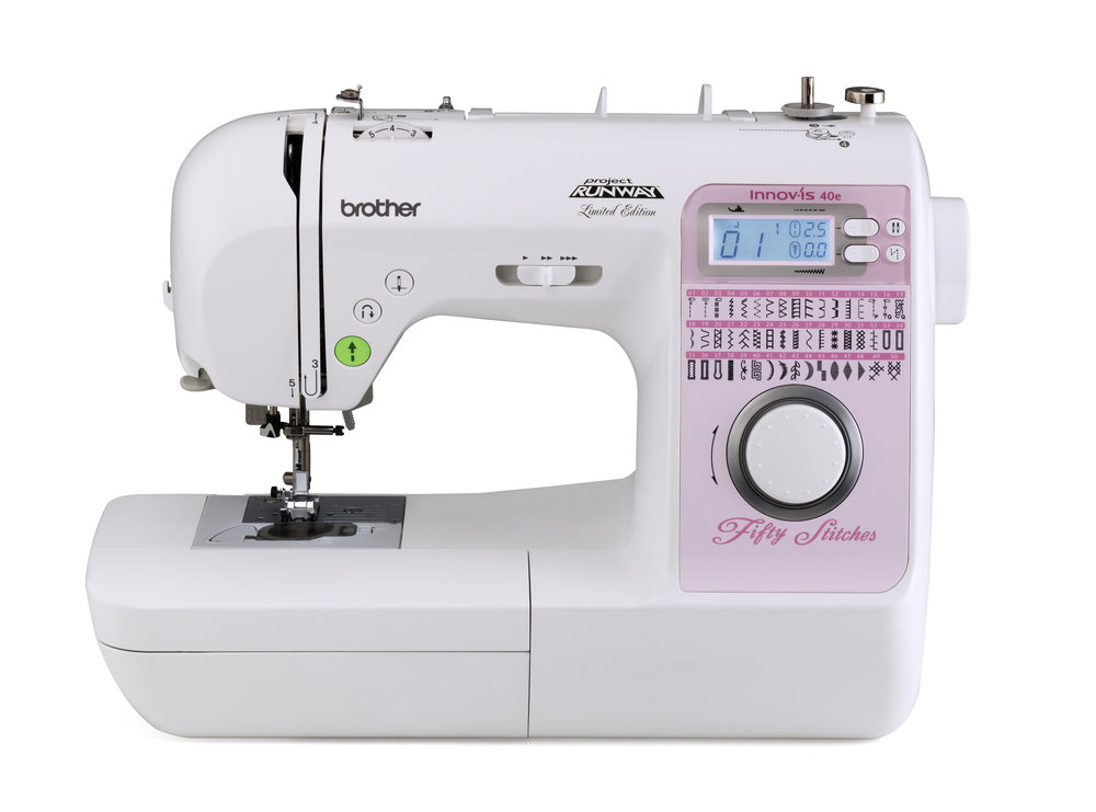 Brother NS40E * 50 built-in stitches * easy stitch selection * Automatic threading system * Speed control * light weight