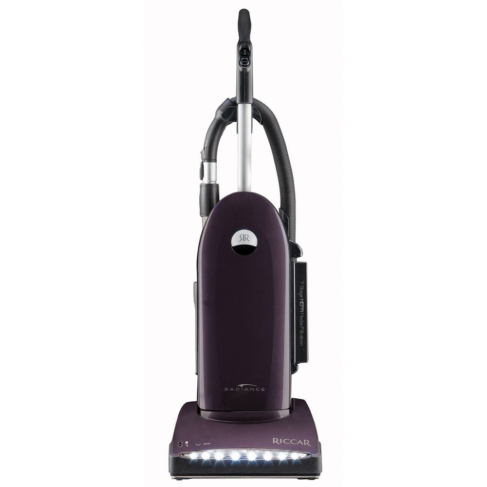Riccar Radiance R40 * 22 lbs * Majestic Purple * 7 year warranty * 40ft cord * on board tools
