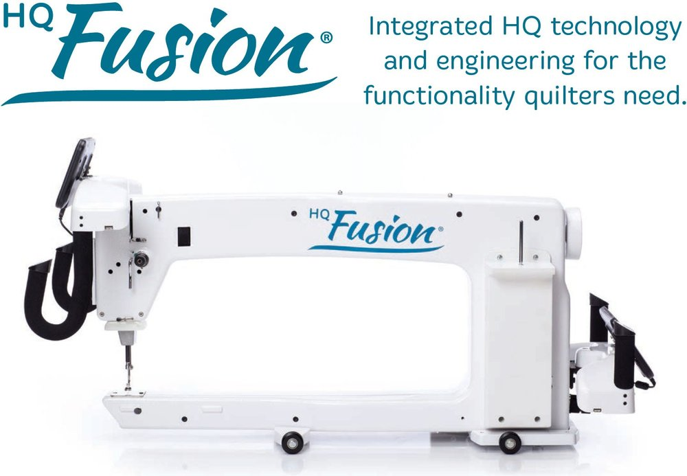 Some projects need more speed and space than a smaller machine can deliver. With this in mind, Handi Quilter offers the HQ Fusion which delivers what quilters need. With 24 inches of throat space, high quilting speeds, and proven stitch regulation, it's easy to add HQ Pro-Stitcher for maximum quilting efficiency. Take your quilting to the next level with a full 24 inches of throat space