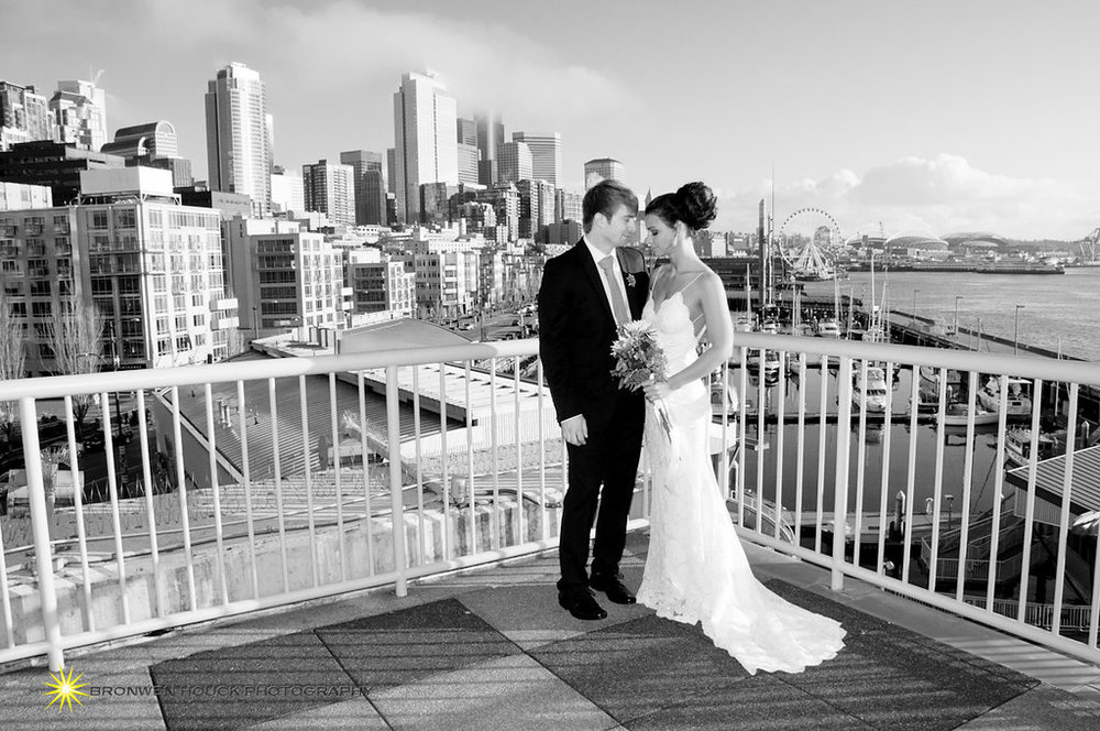 Seattle Bride and Groom