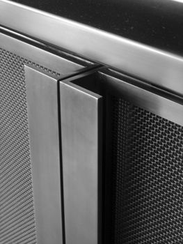 Hardware hot-rolled steel perforated cabinet doors.jpg