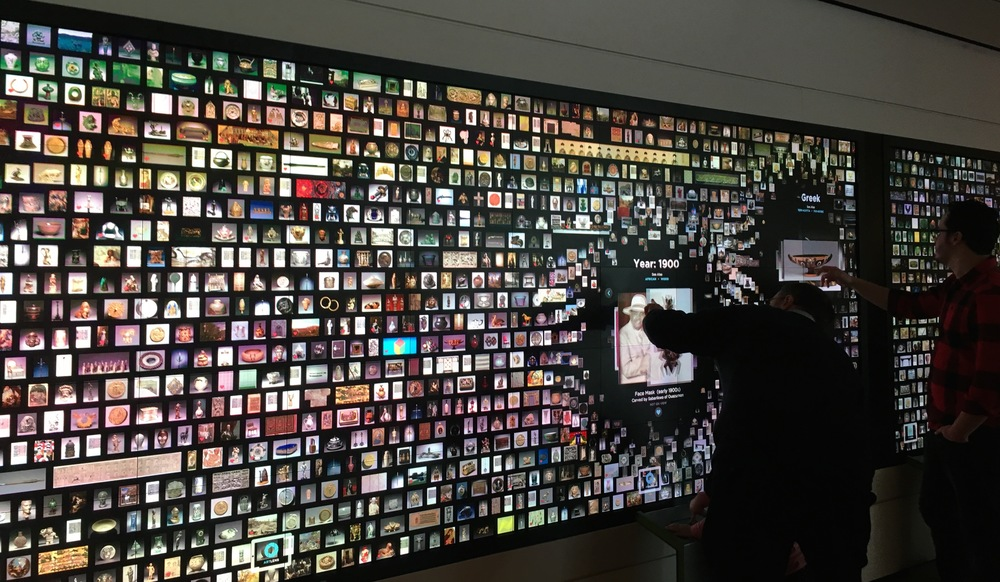 The Collection Wall in Gallery One, Cleveland Museum of Art. I took my dad to CMA for a visit on his birthday. (For images from prior weeks, visit Pinterest.)