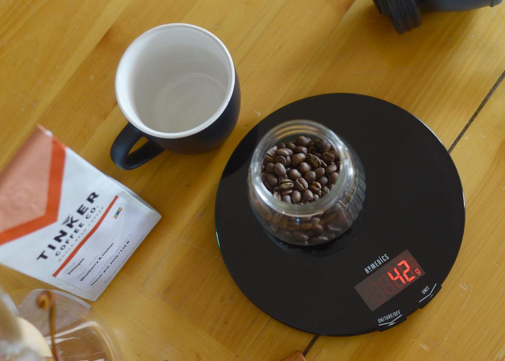 chemex weight