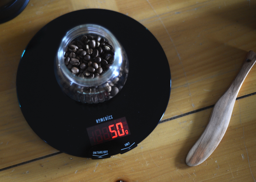 french press scale