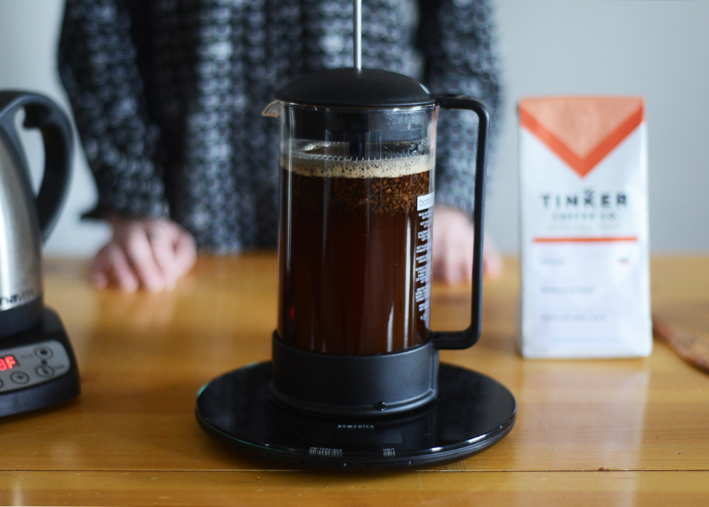 french press cap