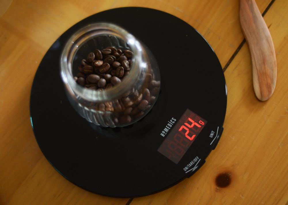 v60 bean dose