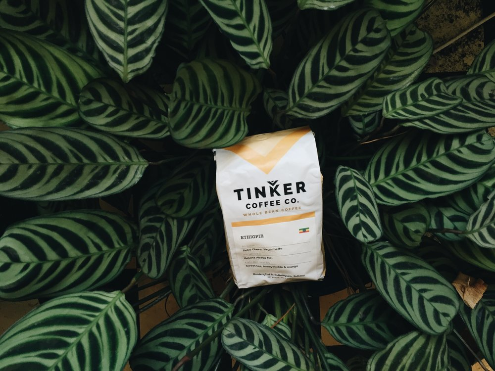 tinker coffee bag leaf