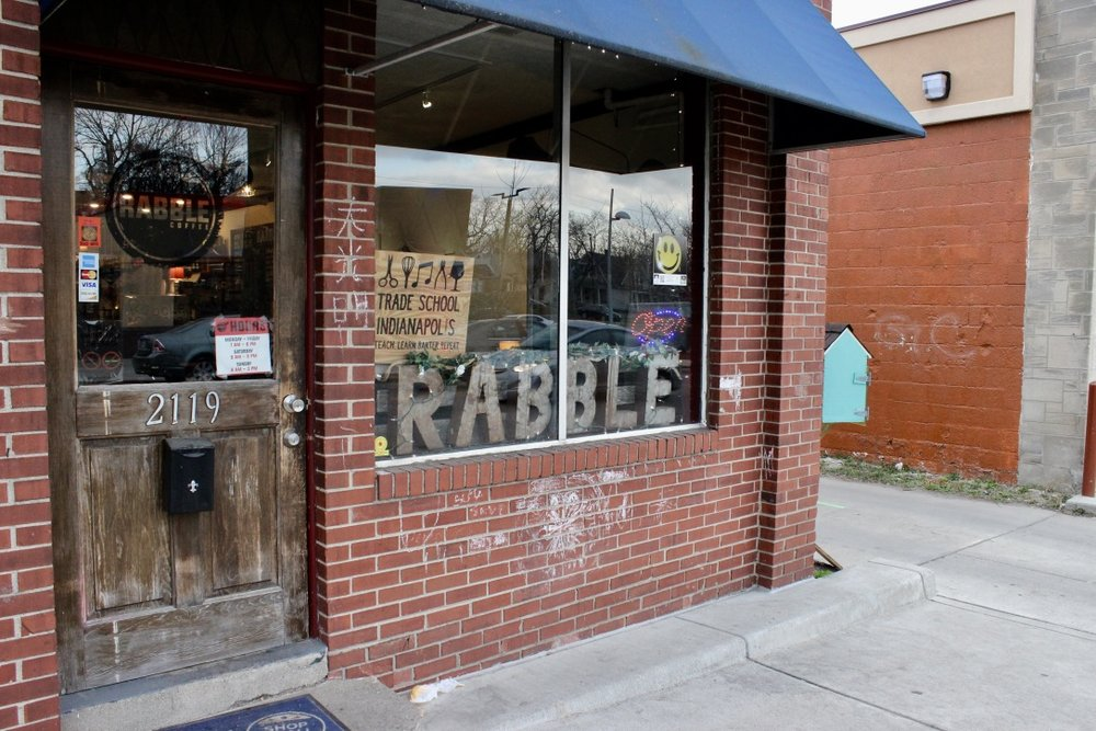 rabble coffee exterior