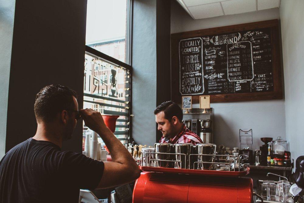 sydney brackemyre tinker coffee georgia street