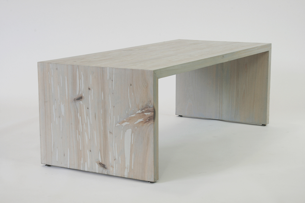 coffee table - graywash