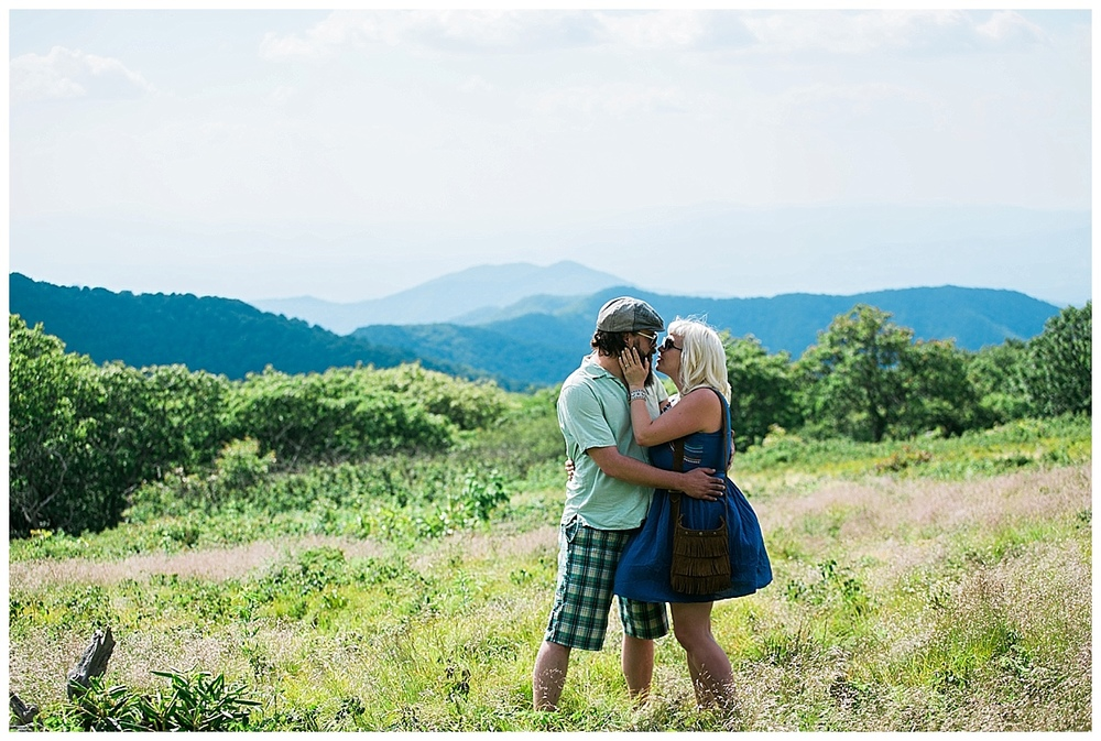 asheville engagement photos