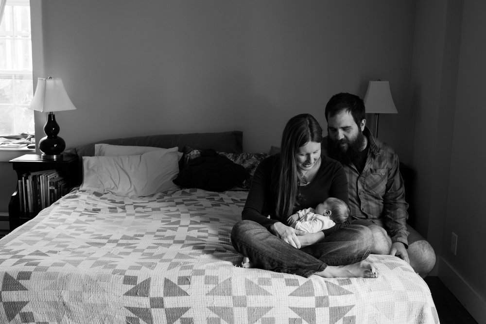 asheville newborn photography