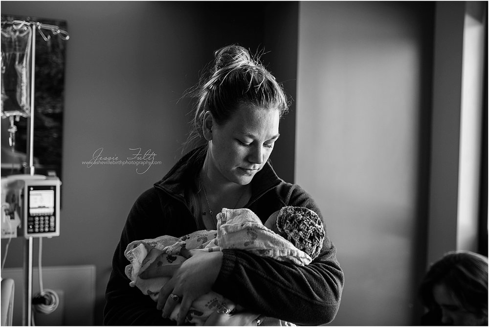 Asheville NC birth photography