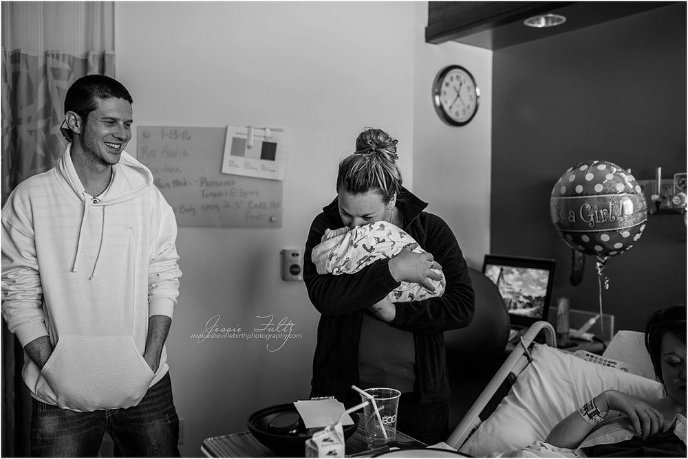 Hendersonville birth photographer