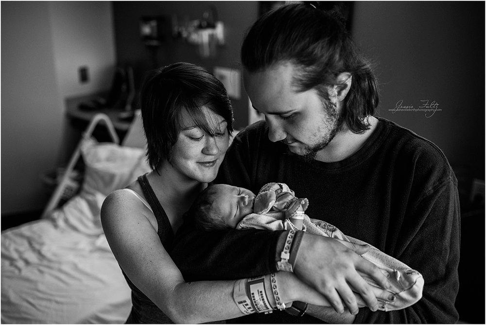 Hendersonville NC newborn photography
