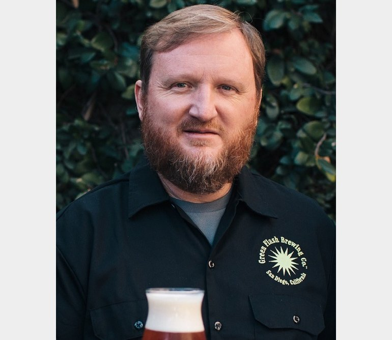 GREEN FLASH BREWER CHUCK SILVA