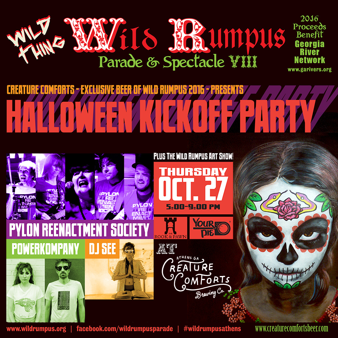 wild rumpus kick-off party — creature comforts brewing co.