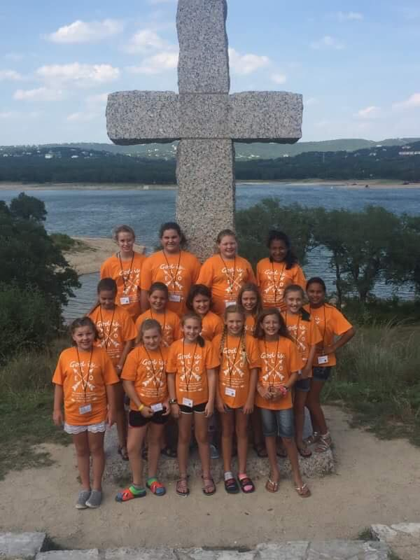 Our Girls at Pre-Teen Camp