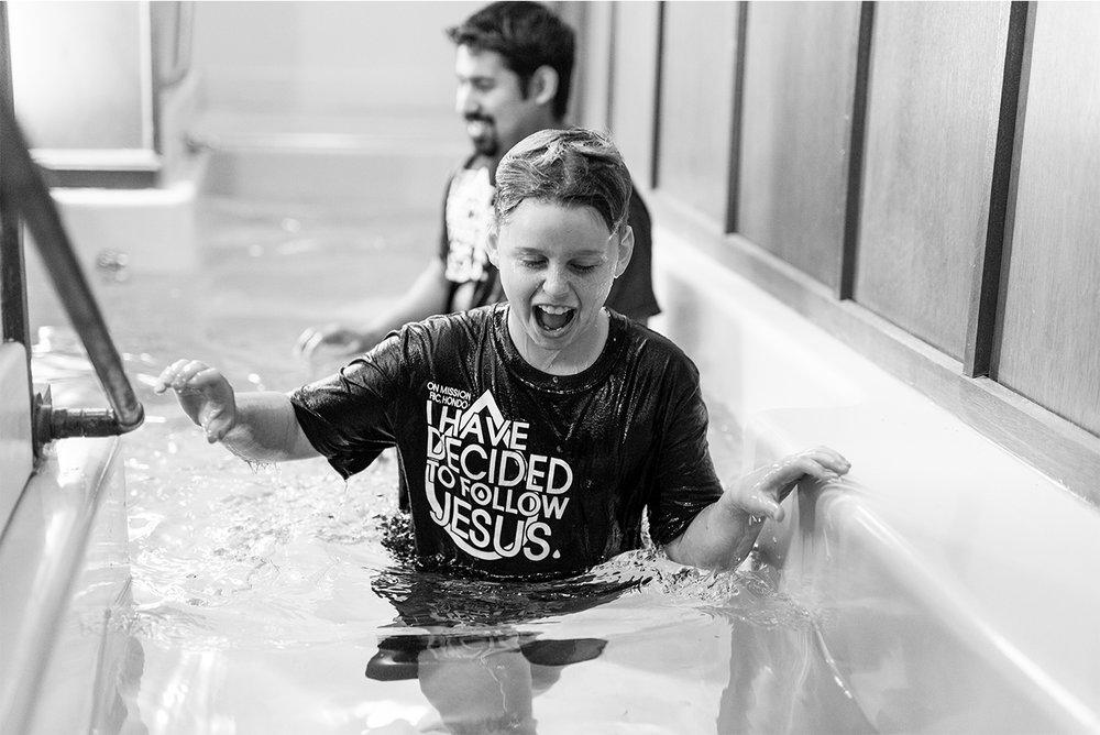Spicer's Baptism 1/13/19