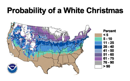 nevver :      Probability of a White Christmas