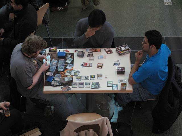 Oh Bituminous Blast! At Midtown's 'Magic' Gathering    Great title courtesy of Carrie Frye.