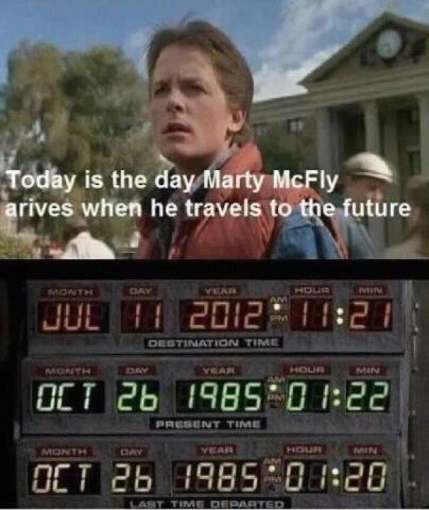 markcoatney :      zadi :     Today is July 11, 2012. #backtothefuture     Remember to say hello….